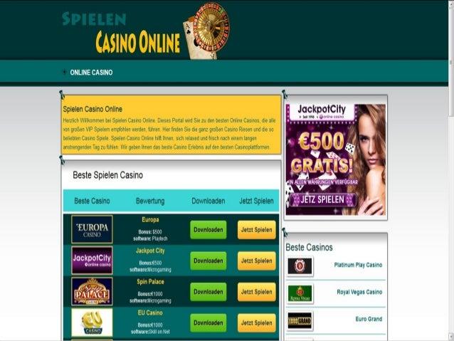 Spielen Casino Online Slide 2