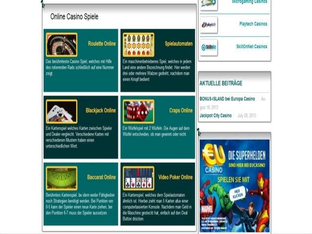 Spielen Casino Online Slide 3