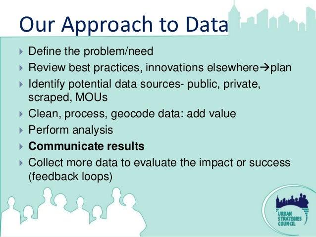 OakX:Data+The Power of Storytelling  Steve Spiker/Urban Strategies Council Slide 3