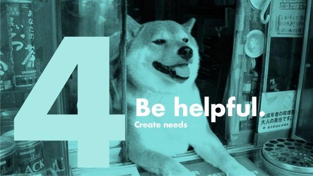 Be extraordinary. Let creative lead.