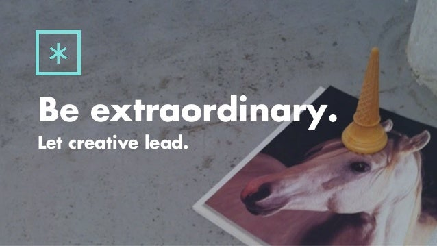 Insights on brand experience and creativity