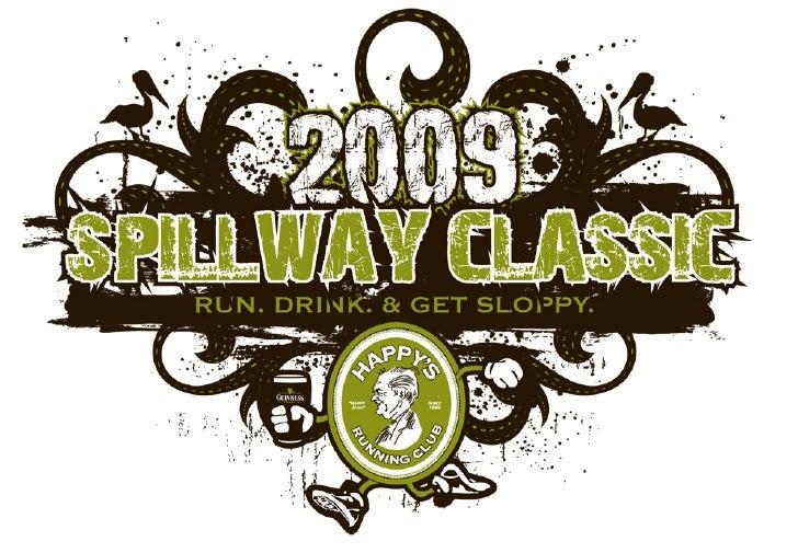 Happy\'s Runnign Club 2009 Spillway Logo Design