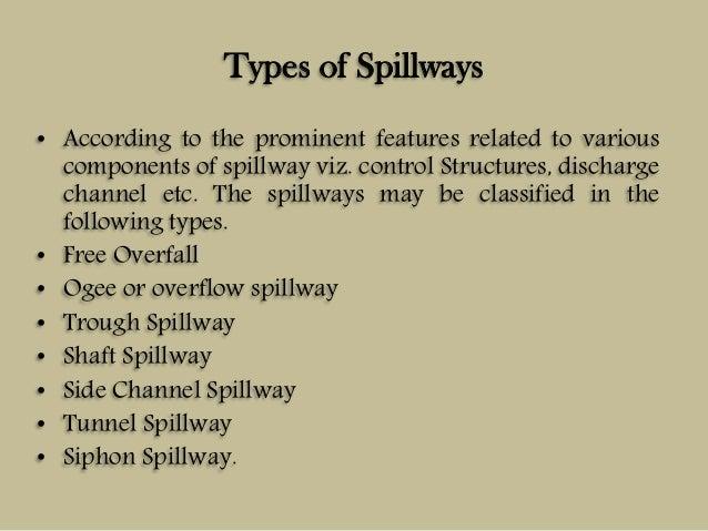 Spillways And Flood Control Works