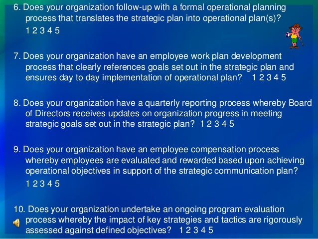 How To Make Strategic Planning Implementation Work The Levels Of
