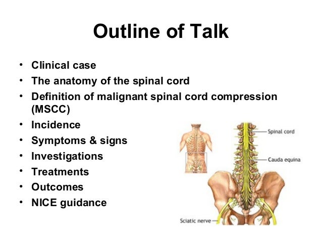 Spinal cord compression bhf aos study day mar 2014 final