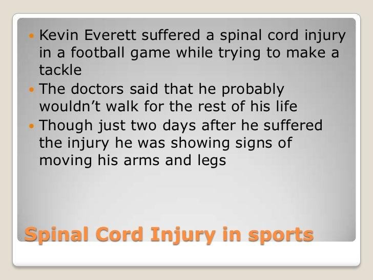 Kevin everett injury medication