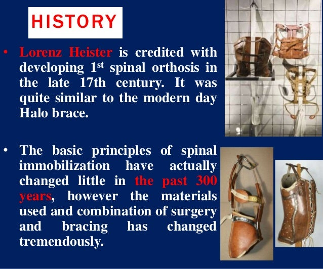 Spinal orthosis dr aliaa