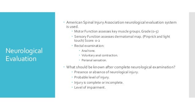 american spinal injury association asia guidelines
