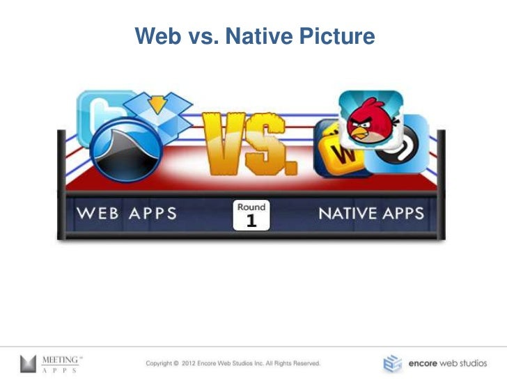 Benefits of Web Apps•   Web based content•   Runs on all platforms•   Support one code base•   URL access•   No approval• ...
