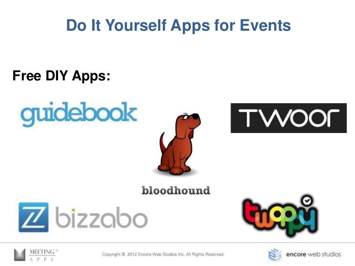 Do It Yourself Apps for Events           Bizzabo