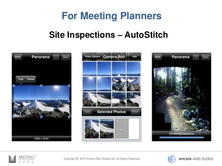 For Meeting PlannersSite Inspections – Photosynth