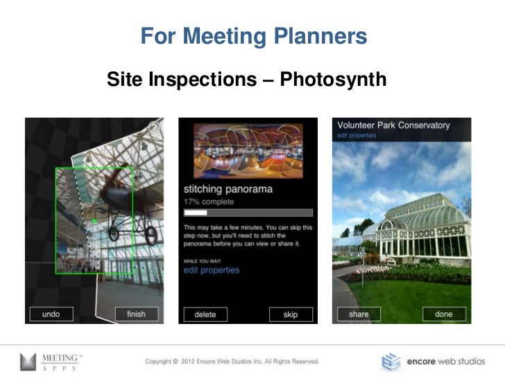 For Meeting Planners     Evernote