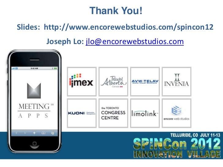 SPINCon 2012