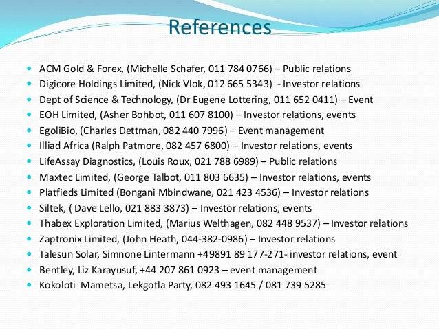 acm gold & forex trading (pty) ltd