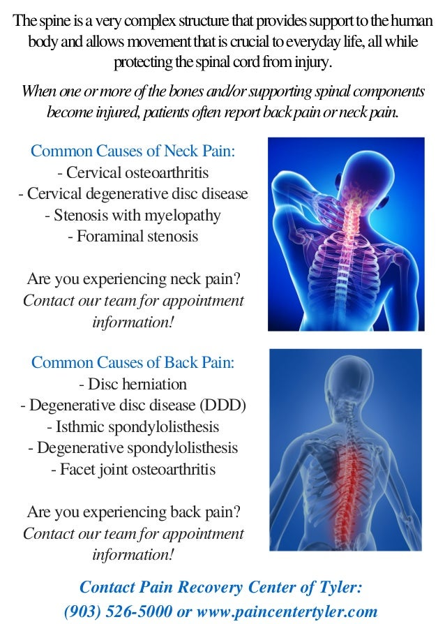Spine Anatomy | Back & Neck Pain | Tyler TX