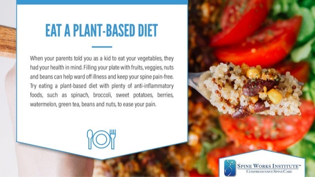 Fighting Back Pain with Food  Slide 2