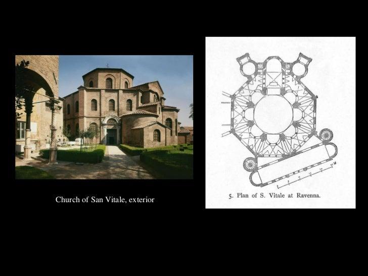 <ul><li>Church of San Vitale, exterior </li></ul>