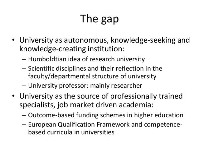 gap between education and industry 10122010 bridging the gap between industry and higher education: training academics to promote student teamwork.