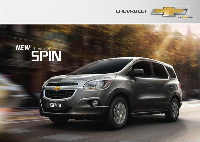 โบชัวร์ Chevrolet Spin