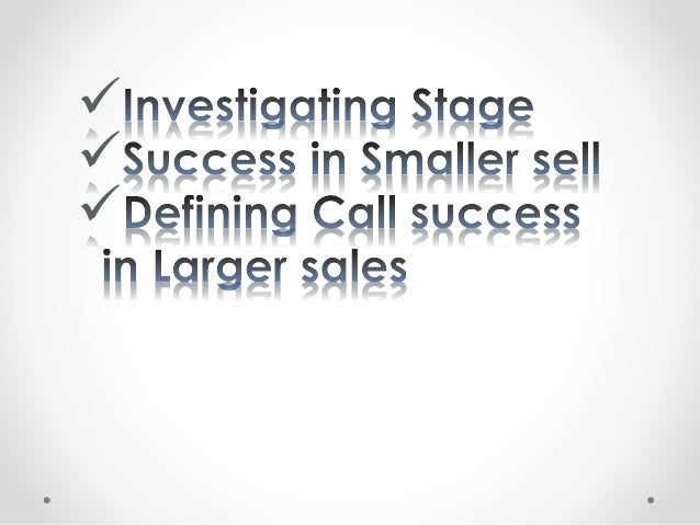 Spin selling directive Sales way