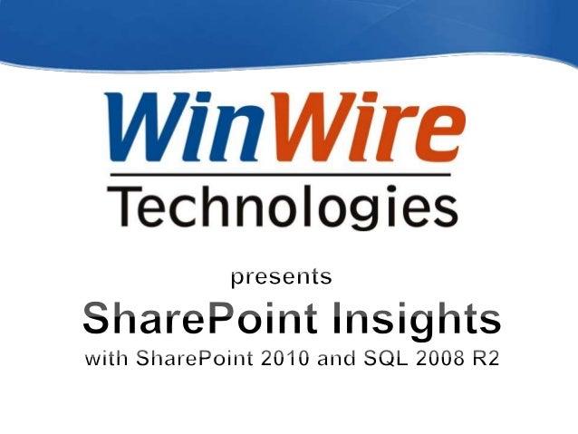 © 2010 WinWire Technologies