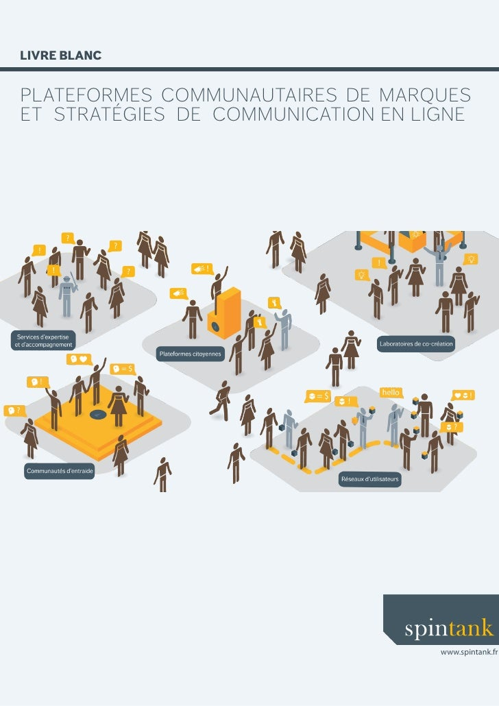 LIVRE BLANC   plateformes communautaires de marques et stratégies de communication en ligne                               ...