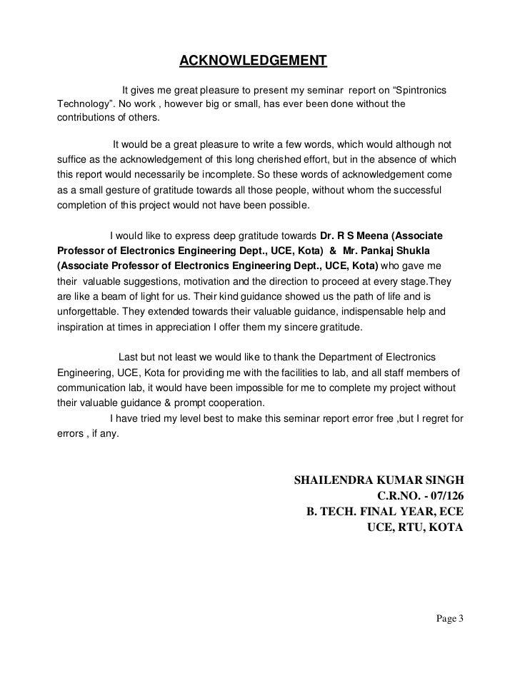 Seminar Report Pdf