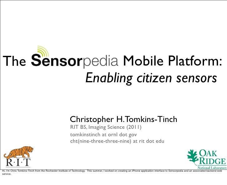 The                                                                        Mobile Platform:                               ...