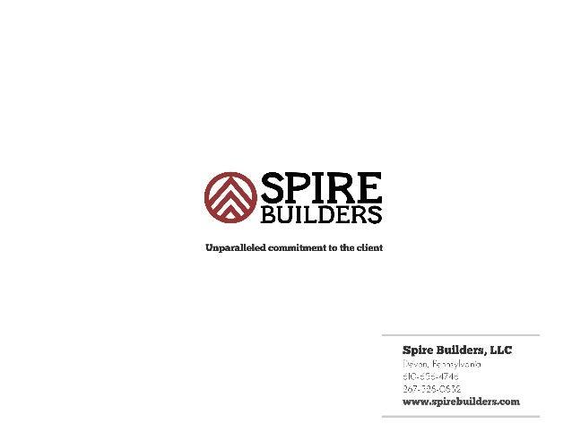 Spire Builders Brochure