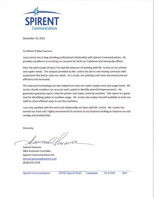 Spirent Communications, Inc