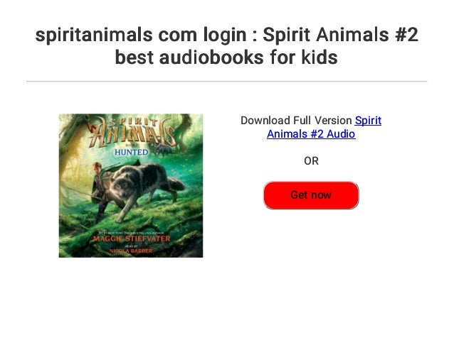 spiritanimals com login : Spirit Animals #2 best audiobooks for kids