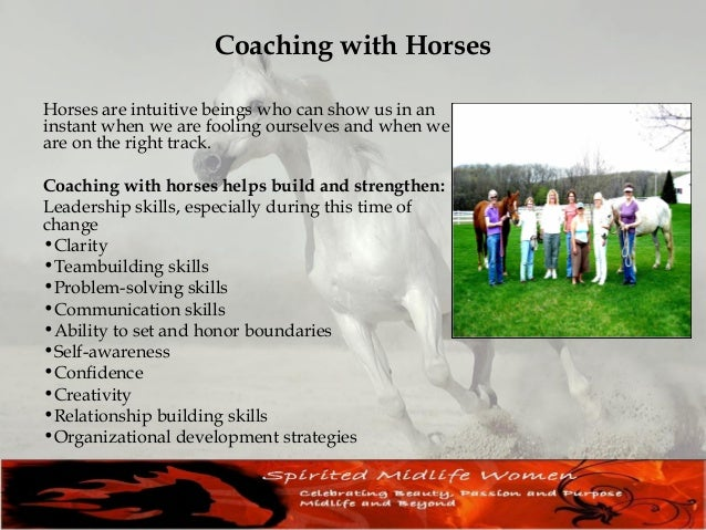 Horses, Heart and Healing Rediscover the wisdom of your body, mind and spirit. Let nature and horses help heal what longs ...