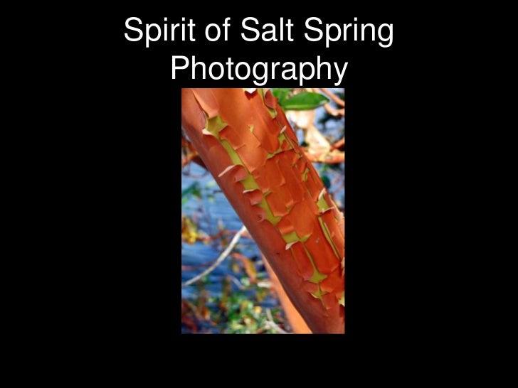 Spirit of Salt Spring Photography<br />