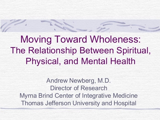 relationship between physical and mental health Hoeymans and colleagues noted that subjective health is a valuable and personalized health indicator, specifying one's perception and evaluation of one's own health, based on an interpretation of the objective physical and mental health status, and expectations and comparisons [5–10.