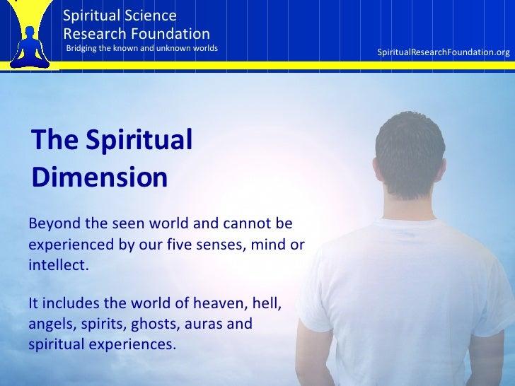 Spiritual  Research Slide 2