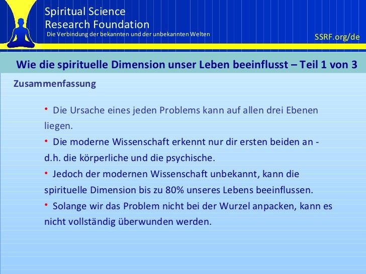 Zusammenfassung <ul><li>Die Ursache eines jeden Problems kann auf allen drei Ebenen liegen. </li></ul><ul><li>Die moderne ...