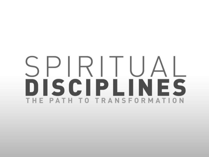 The Spiritual Discipline of Study - Wellington Baptist Temple