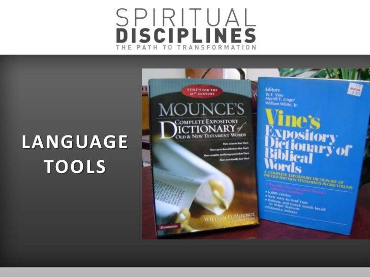 Spiritual Disciplines | Bible.org