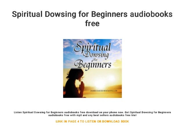 Spiritual Dowsing for Beginners audiobooks free