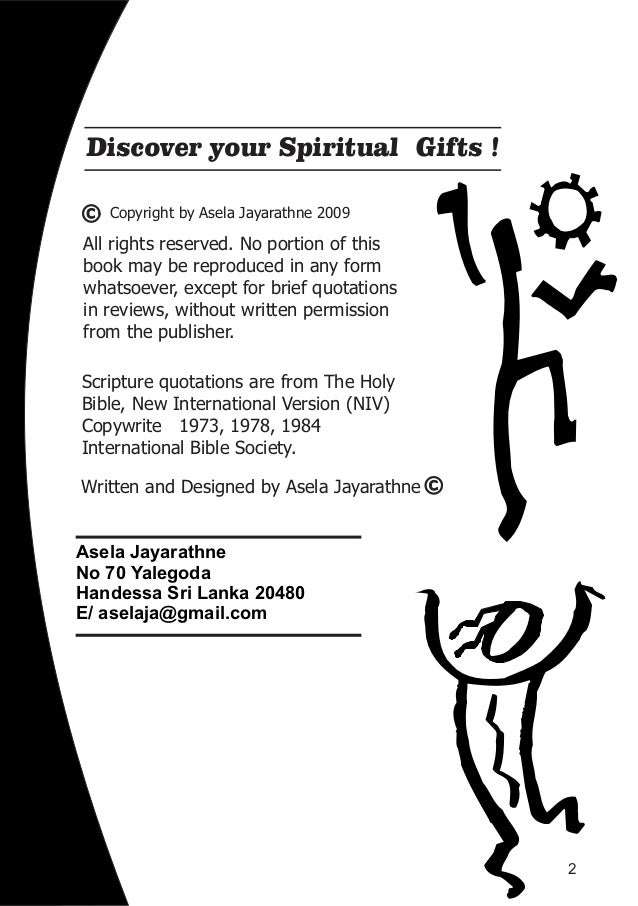 Discover your spiritual gifts by asela jayarathne discover your spiritual gifts 3 negle Choice Image