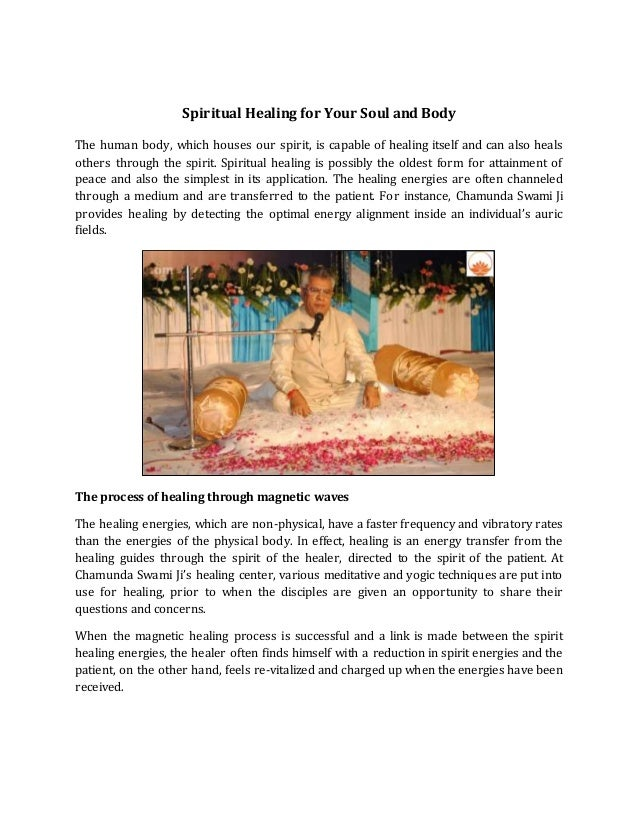 Spiritual Healing for Your Soul and Body