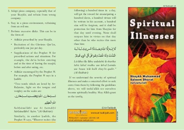 Spiritual Illnesses Slide 2