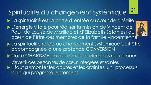 Spiritualité du changement systémique  La  21  spiritualité est la porte d'entrée au cœur de la réalité  L'énergie vital...