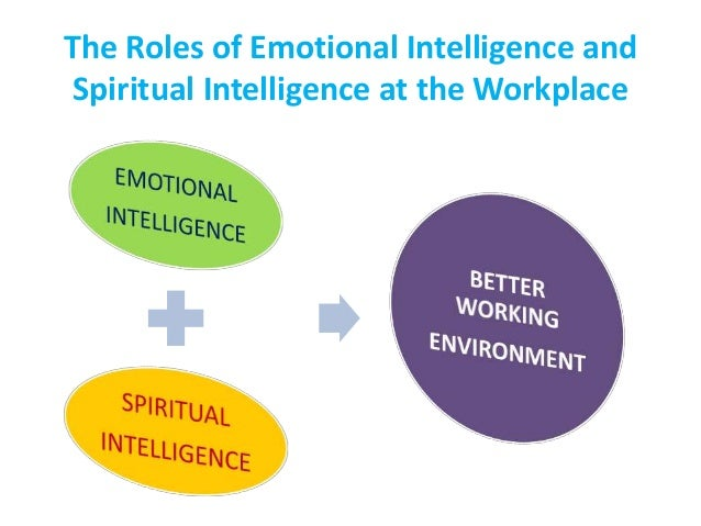 spiritual intelligence emotional intelligence and If spiritual intelligence is a real thing spiritual intelligence, much like emotional intelligence, seems to involve a combination of already recognised.