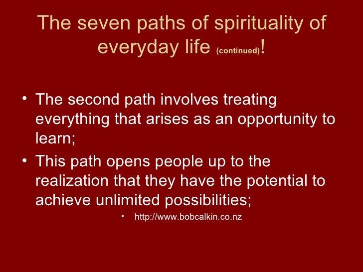 Everyday Spirituality