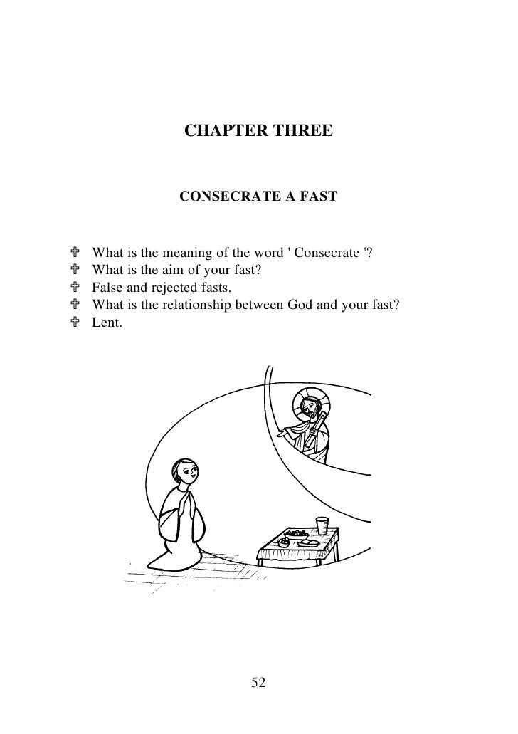 Spirituality Of Fasting By H.h Pope Shenoda 3 The Coptic