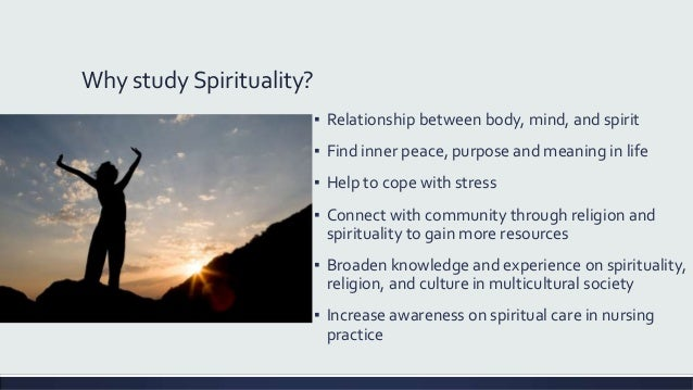spirituality and religion in nursing