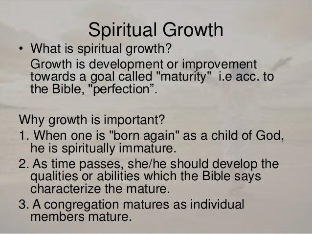 Bible verses about maturity