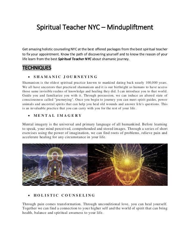 Spiritual Teacher NYC – Mindupliftment