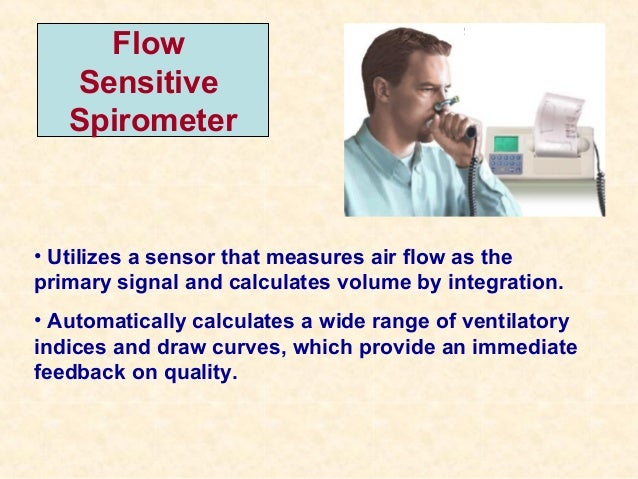 flow oriented incentive spirometer